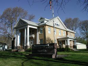 Webster County Historical Museum, 721 W. 4th Ave. in Red Cloud