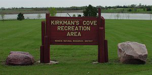 Kirkman Cove Recreation Area near Humboldt, NE